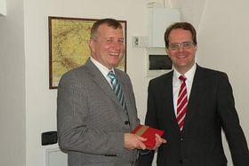 Peter Barton und Markus Rinderspacher (Foto: Christian Rühmkorf)