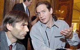 Senador Martin Mejstrik (a la izquierda) Foto: CTK