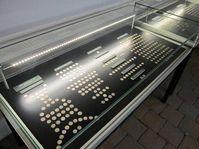 Stříbrné mince z 10. století, Polabské muzeum, foto: Pavel Pavlas