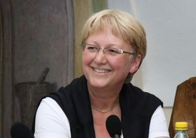 Milena Štráfeldová, photo: Archives du Centre tchèque de Bruxelles