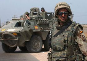 Soldados españolos en Irak, foto: CTK