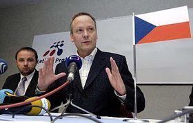 Stanislav Kazecky and Cyril Svoboda, photo: CTK