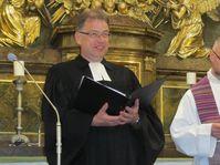Pfarrer Leßmann-Pfeifer und Martin Leitgöb (Foto: Martina Schneibergová)