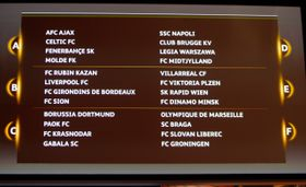 Le tirage de la Ligue Europa, photo: ČTK