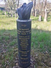 Denkmal von Mike Frankl und Hana Samson (Foto: Maria Hammerich-Maier)