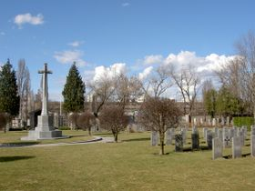 The Commonwealth War Graves Cemetery at Prague's Olšany, photo: Dezidor, Wikimedia Commons, CC BY-SA 3.0