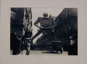 La fotografía de la exposición 'Inicios del México contemporáneo', foto: Autor