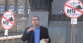 Milan Krajča (Foto: YouTube Kanal der Tschechischen Friedensbewegung)