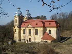 The church in Skoky