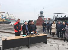 Томаш Петршичек, Павло Климкин и Андерс Самуелсен, фото: Катерина Айзпурвит