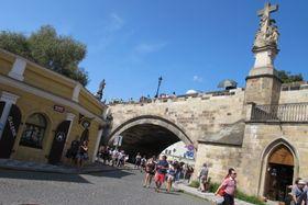 Карлов мост (Фото: Кристина Макова, Чешское радио - Радио Прага)