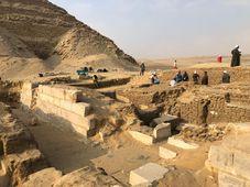 Le site archéologique d'Abousir, photo: Institut tchèque d'égyptologie de l'Université Charles