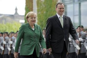 Kanzlerin Angela Merkel mit dem tschechischen Premier Petr Nečas (Foto: ČTK)