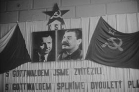 Klement Gottwald and Joseph Stalin, photo: National Archives, Wikimedia Commons, CC0