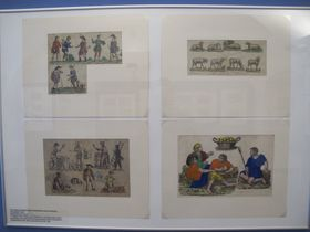 Unos de los belenes impresos más antiguos del siglo XIX, foto: Dominika Bernáthová