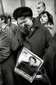 Фотография Мирослава Зайица, похороны Яна Палаха, фото: выставка Sovětská invaze - srpen 1968