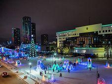 Зимняя Астана, Фото: официальный фейсбук г. Астана