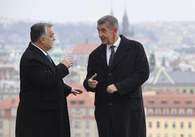 Viktor Orbán und Andrej Babiš (Foto: ČTK / Michal Krumphanzl)