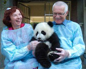 Вацлав Клаус (направо) и его супруга в Китае (Фото: ЧТК)