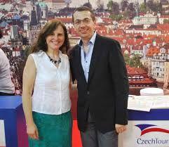 Patricia Cmol y Petr Lutter, Foto: cortesía  de Pasaportenews