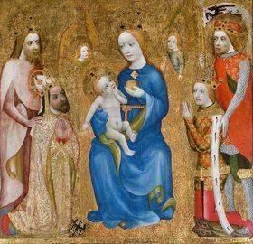 Charles IV et Saint Venceslas