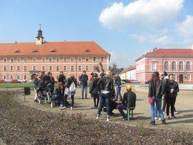 Tagesausflug nach Theresienstadt (Foto: Fenja Gerstmann)