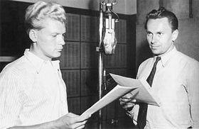 Jiří Hanzelka y Miroslav Zikmund, foto: archivo de la Radiodifusión Checa
