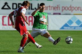 Jablonec - Slavia, foto: ČTK