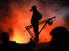 Революция в Украине, 2014г., Фото: Ян Шибик