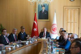 Andrej Babiš en Turquie, photo: ČTK/ABACA/AA/