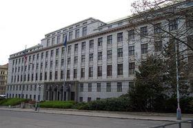 Budova Ministerstva zemědělství, foto: Aktron CC BY-SA 3.0