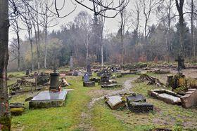 Hřbitov vLučině, foto: Martina Klímová, archiv ČRo