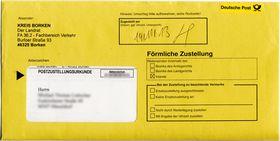 Bußgeldbescheid (Foto: BlackIceNRW, Wikimedia Commons, CC BY-SA 3.0)