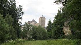 El castillo de Kost en el valle de Plakánek, foto: Miloš Turek