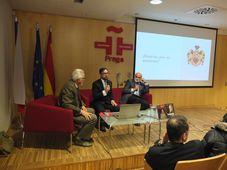 Pavel Štěpánek, Pavel Marek y Josef Opatrný, foto: Enrique Molina