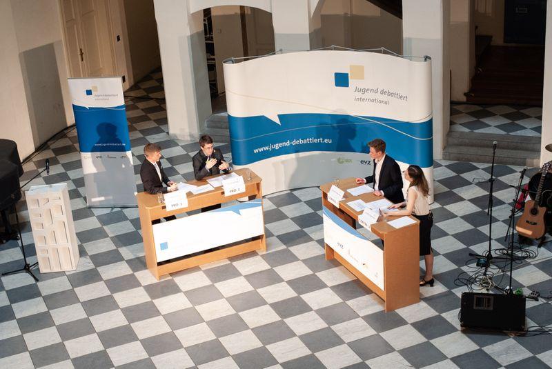 "Foto: Archiv ""Jugend debattiert international"""