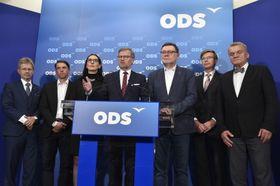 Representantes del Partido Cívico Democrático, foto: ČTK / Vít Šimánek