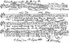L'hymne tchèque
