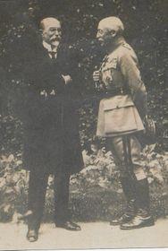 Tomáš Garrigue Masaryk avec le général Pellé, photo: Site officiel de Villa Pellé