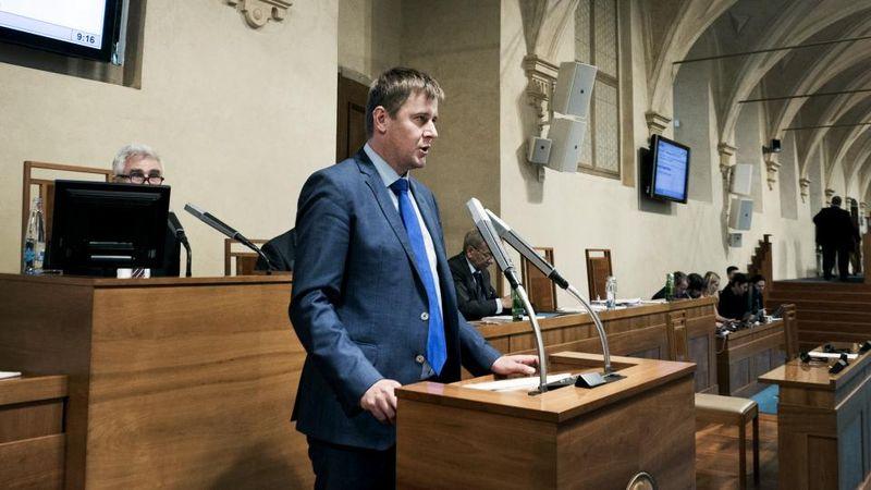 Tomáš Petříček, photo: Michaela Danelová, Czech Radio
