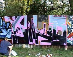 Vladimir 518's graffiti, photo: www.phatbeatz.cz
