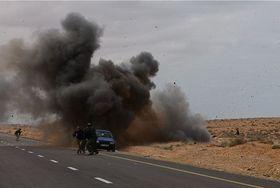Libye, Mars 2011, photo: Patrick Chauvel