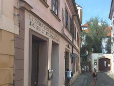 Café littéraire de la rue Řetězová, photo: OpenStreetMap / Seznam.cz