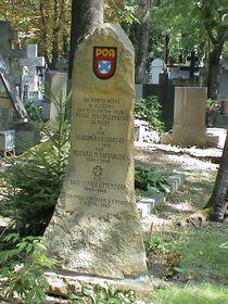 Надгробие РОА на Ольшанском кладбище в Праге, фото: Dezidor, CC BY-SA 3.0
