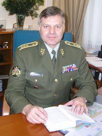 Náčelník generálního štábu Pavel Štefka