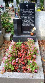 La tumba de Iša Krejčí y su familia, foto: David Sedlecký, CC BY-SA 3.0