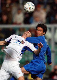 Товарищеский матч чешских футболистов с командой Италии (Фото: ЧТК)