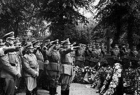El funeral de Reinhard Heydrich
