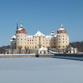 Palacio de Moritzburg, foto: Dr. Bernd Gross, Wikimedia CC BY-SA 3.0