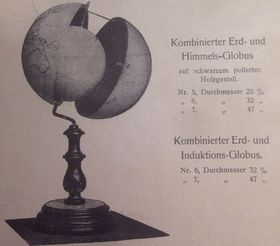 "Photo: Exhibition catalogue ""Jan Felkl & syn. Továrna na glóby/Jan Felkl & son, a Globe-Making Factory"""